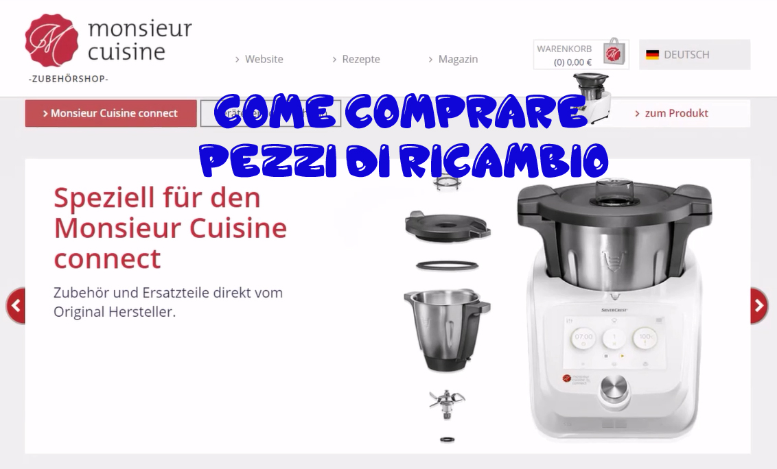 Ricambi Monsieur Cuisine Connect Video Guida Come Comprare Pezzi