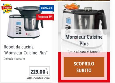 Monsieur Cuisine Plus In Vendita Da Lidl Prezzo E News 2020
